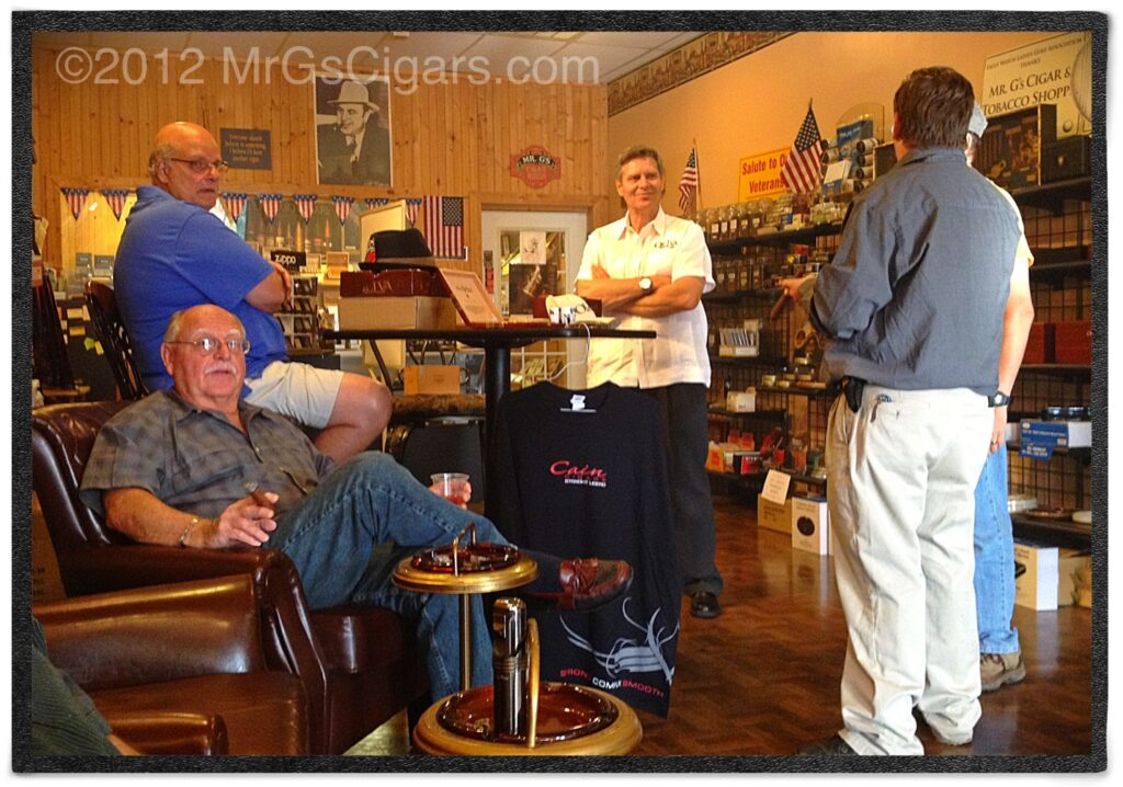 Cigar Shop in Woodstock